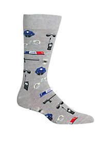 Police Crew Socks
