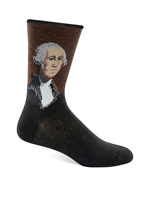 Hot Sox® Artist Series George Washington Crew Socks