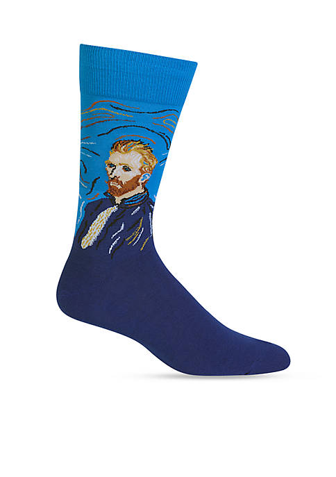 Hot Sox® Artist Series Van Gogh Self Portrait