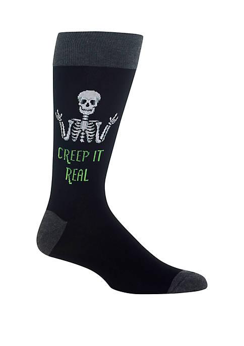 Hot Sox® Creep It Real Crew Socks