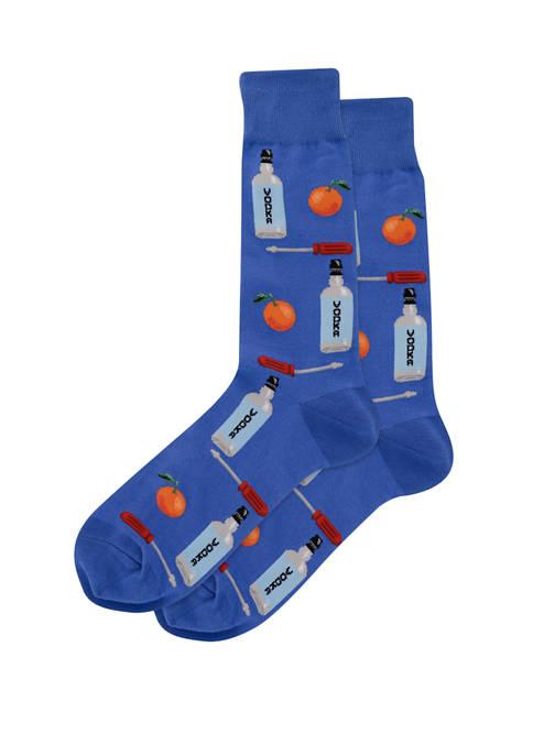 Hot Sox® Mens Screwdriver Crew Socks