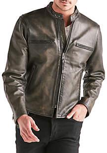 Leather Bonneville Jacket