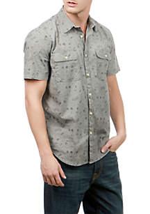Short Sleeve Two-Pocket Shirt