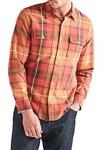 Long Sleeve Clean 2 Pocket Work Wear Shirt