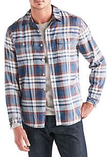 Long Sleeve Two Pocket Work Wear Shirt