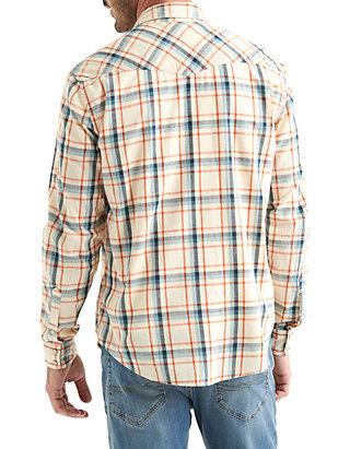 ce01d74708 ... Lucky Brand Long Sleeve Santa Fe Western Shirt ...