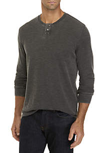 Burnout Thermal Snap Notch Tee