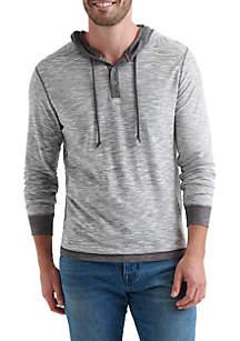 Long Sleeve Duo-Fold Hoodie