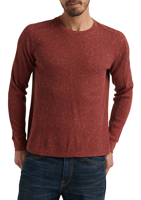 Lucky Brand Long Sleeve Crew Neck Thermal Shirt