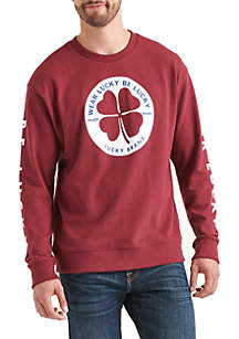 Totally 90s Clover Circle Crew Sweatshirt