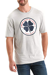Totally 90s Clover Circle Tee