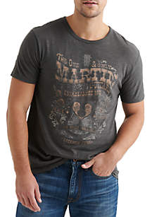 Lucky Brand Martin Guitars One and Only Graphic Tee