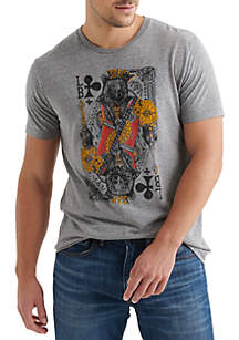 Lucky Brand Lucky King Graphic Tee