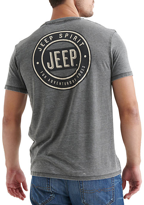 Lucky Brand Jeep Surfrated Graphic Tee