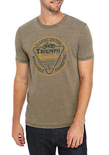 Lucky Brand Triumph Seal Graphic T-Shirt
