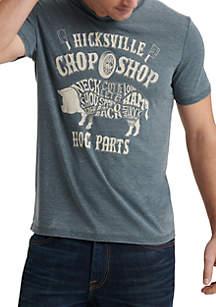 Lucky Brand Chop Shop Graphic T Shirt