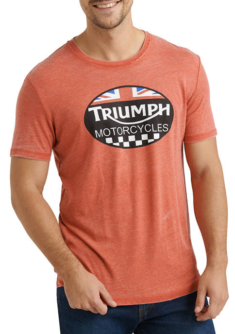Lucky Brand Pompeian Red Triumph Graphic T-Shirt
