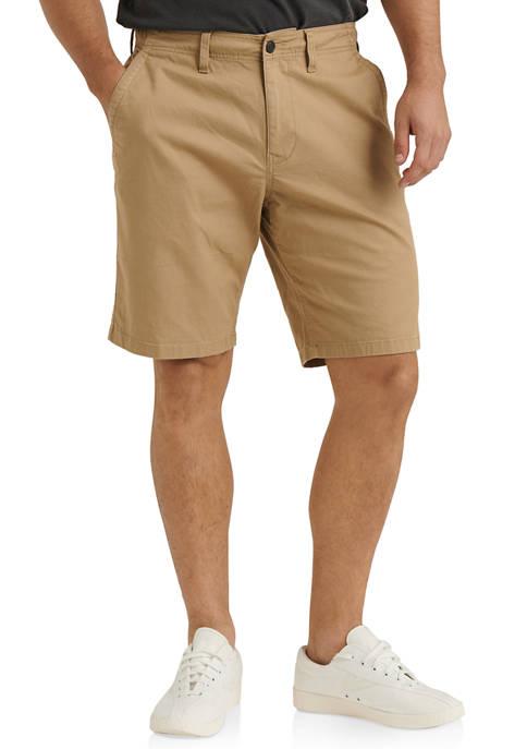 Raven Flat Front Shorts