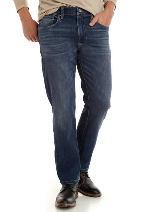 Lucky Brand 223 Straight Stretch Jeans