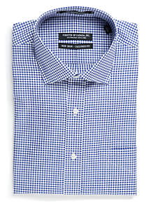 Tailored Fit Non-Iron Gingham Check Dress Shirt