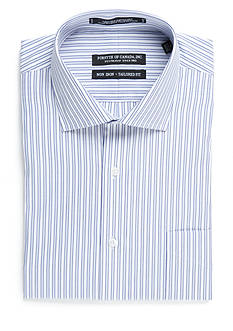 Forsyth of Canada Tailored-Fit Non Iron Kens Stripe Long Sleeve Dress Shirt