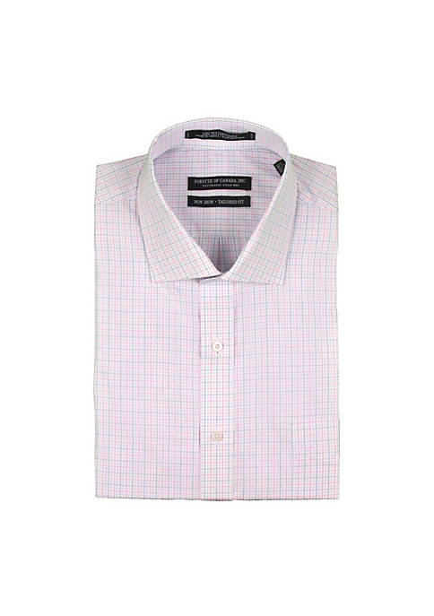 Forsyth of Canada Yarn Dye Windowpane Check Shirt