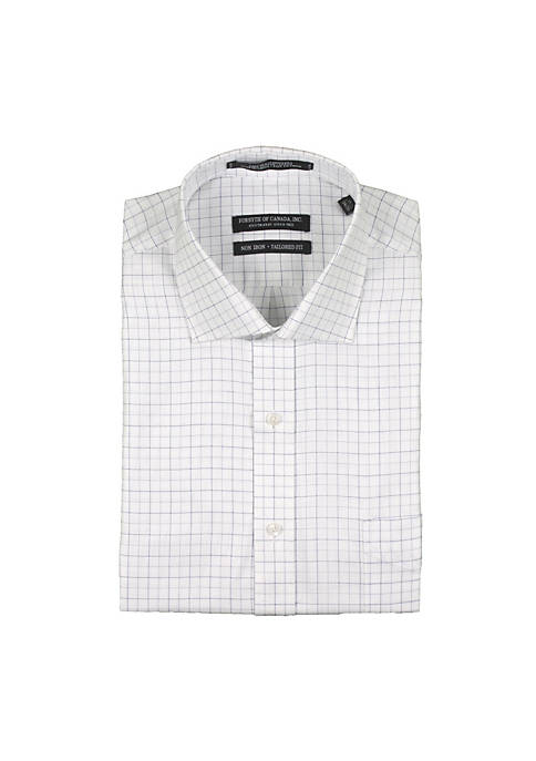 Forsyth of Canada Textured Check Shirt
