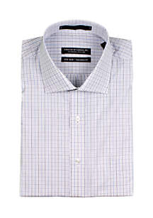 Twisted Check Button Down Shirt