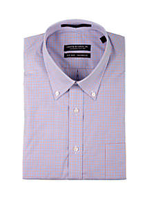 Forsyth of Canada Scarlet Check Dress Shirt