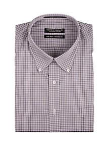 Forsyth of Canada Long Sleeve Twill Check Dress Shirt