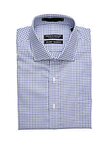 Forsyth of Canada Long Sleeve Twill Check Button Down Shirt