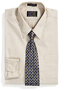 Big & Tall Boxed Dress Shirt and Tie Set