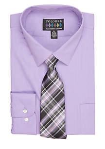 Dress Shirt & Tie Boxed Set