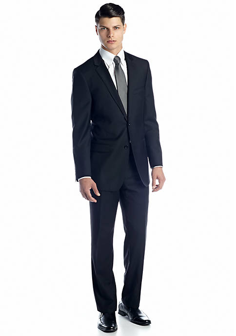DKNY Classic Fit Black Suit