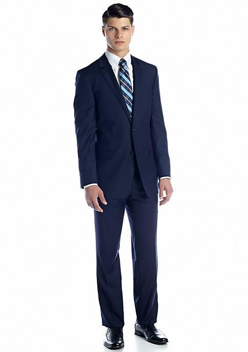 Classic Fit Navy Suit