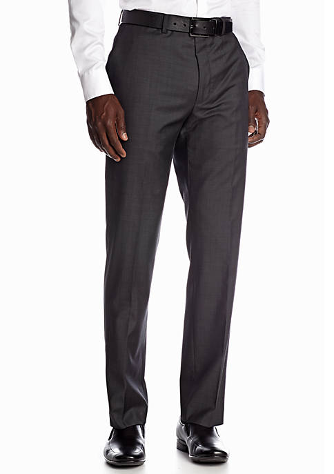 DKNY Slim Fit Twill Suit Separate Pants