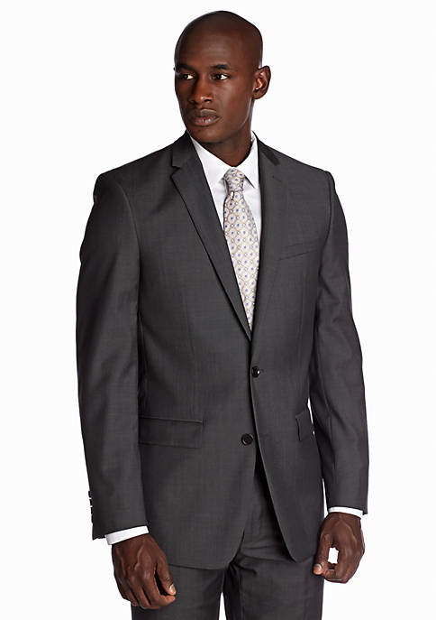 DKNY Slim Fit Twill Suit Separate Jacket