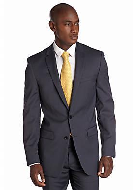 Slim Fit Navy Mini Stripe Suit Separate Jacket