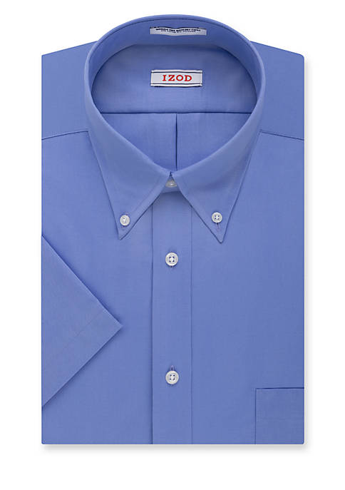 Wrinkle Free Short Sleeve Dress Shirt