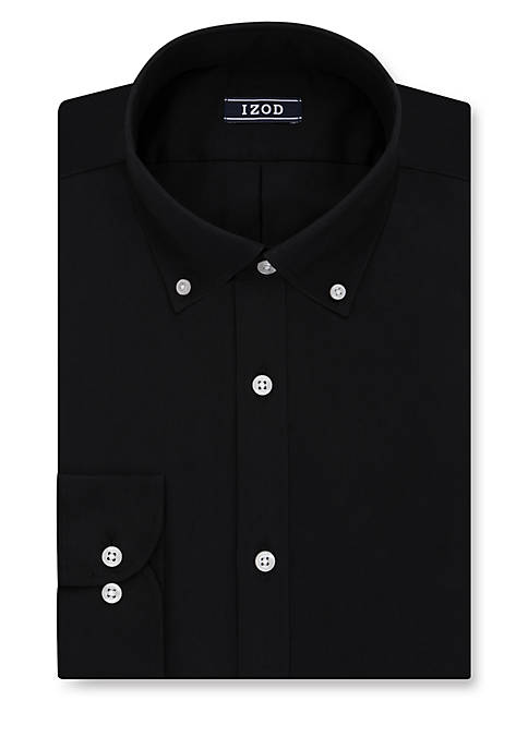 IZOD Slim Fit All Over Stretch Dress Shirt