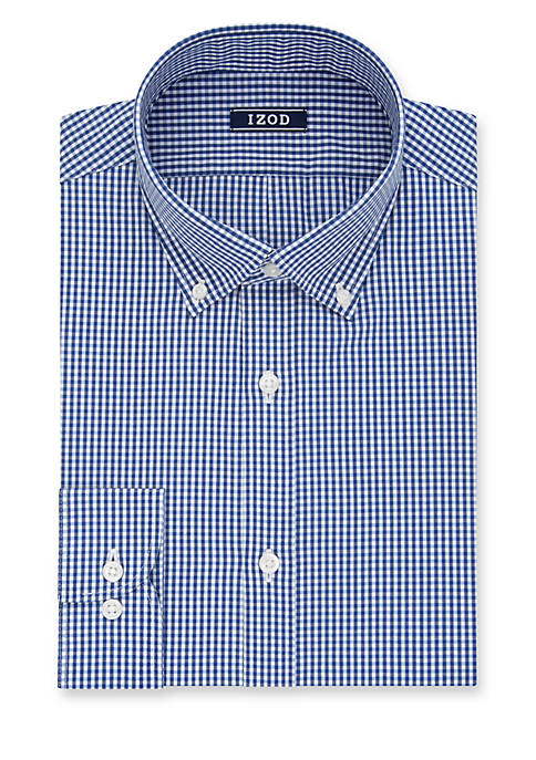 IZOD Slim Fit All Over Stretch Dress Shirt