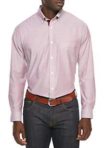 Collegiate All Over Stretch Slim Fit  Dress Shirt