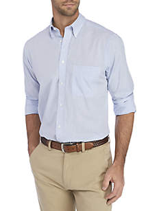 IZOD Regular Fit All Over Stretch Dress Shirt