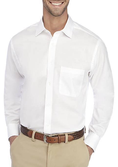 IZOD Regular Fit Long Lasting White All Over