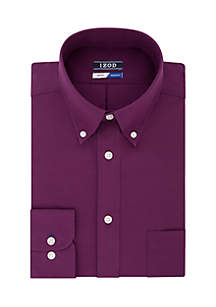 Regular Stretch Tonal Check Dress Shirt