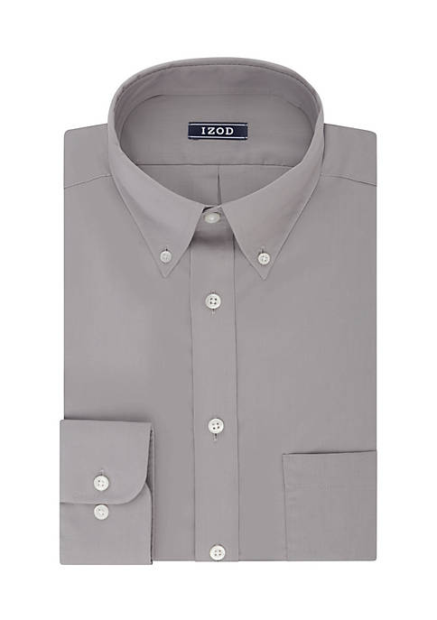 IZOD Big & Tall Solid Dress Shirt