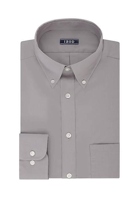 IZOD Big & Tall Solid Dress Shirt