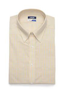 IZOD All-Over Stretch Regular Fit Dress Shirt