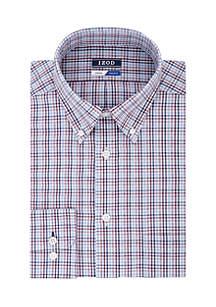 Regular Fit Multicheck Button Down Shirt