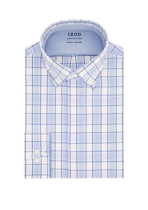 IZOD Advantage Performance Slim Fit Dress Shirt